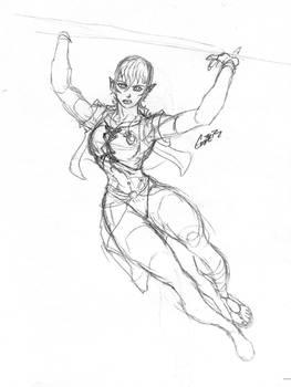 Tiana Embers the Half-Elven Heroine