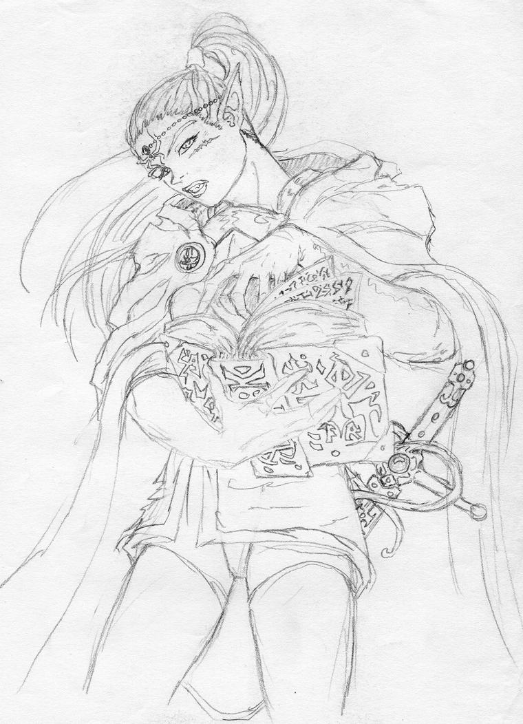 Dark Sorceress by JaeDub003