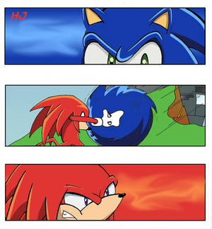 Sonic Vs Knuckles umm again