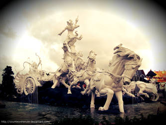 Gatot Kaca Statue by CountezzDracula