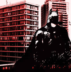 the dark knight by PoliteREBEL