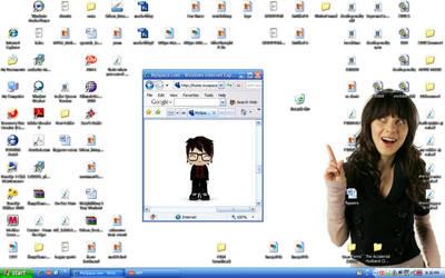 desktop april 2009 by PoliteREBEL