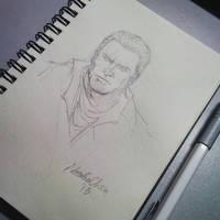 Shay Cormac art practice by nataliec567