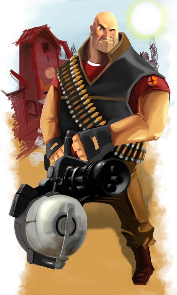 heavy weapon guy by Spankye