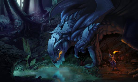 Curious dragon