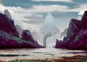 Distant Temple
