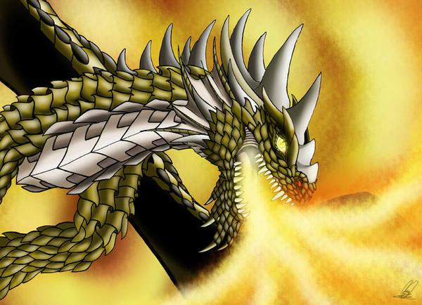 +++ Mis Fan arts, fan mades y otros personajes originales +++ :D  - Página 2 El_gran_dragon_by_melhellmoon-d6d191m