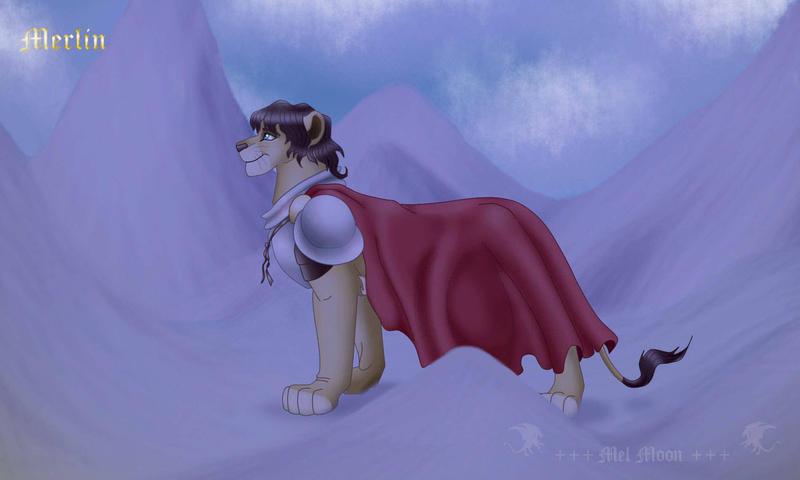 +++ Mis Fan arts, fan mades y otros personajes originales +++ :D  Mordred_lion_by_melhellmoon-d6v06k2