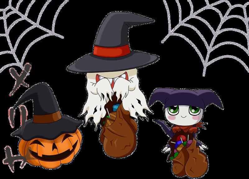 Digi Halloween by MelHellMoon