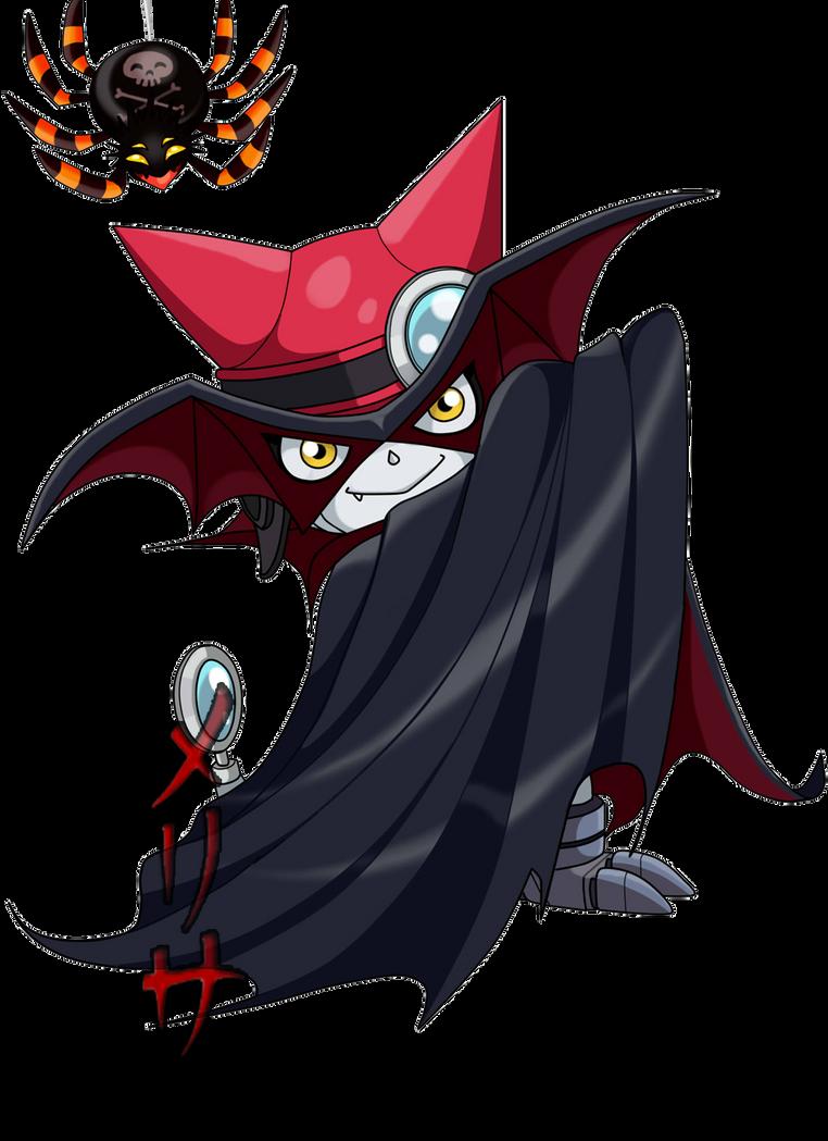 Vampire Gatchmon  XD by MelHellMoon