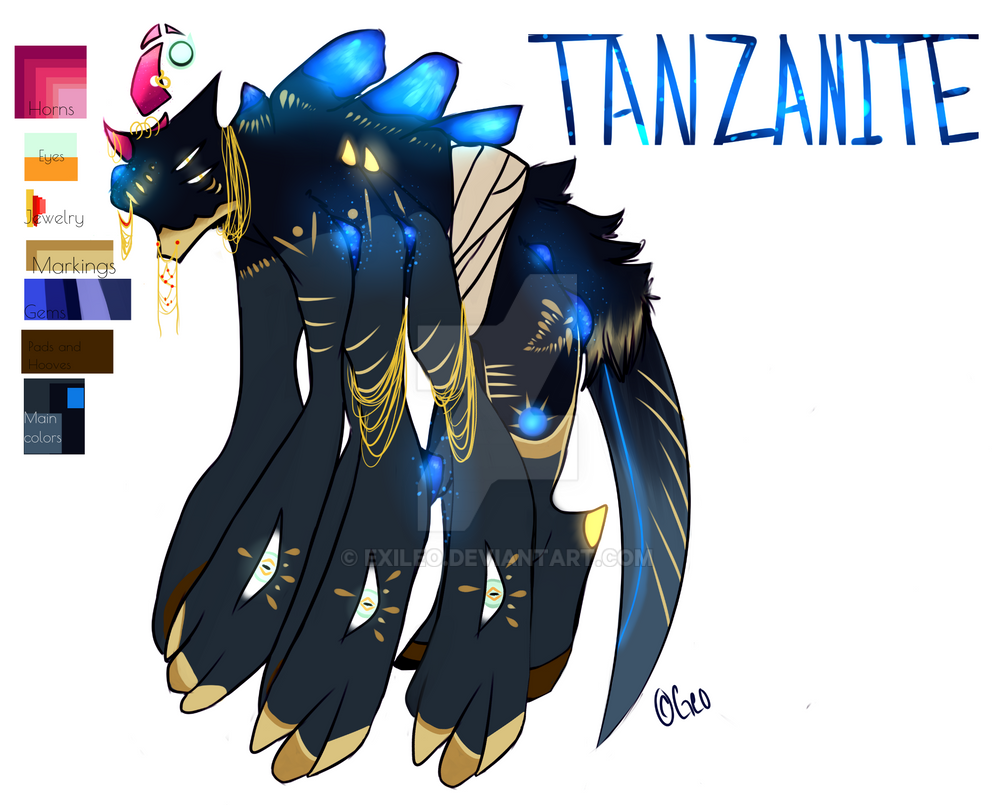 Tanzanite by Exileo