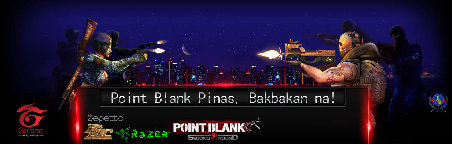 Point Blank Pinas, Bakbakan na! GCG #Crow by innogerard123