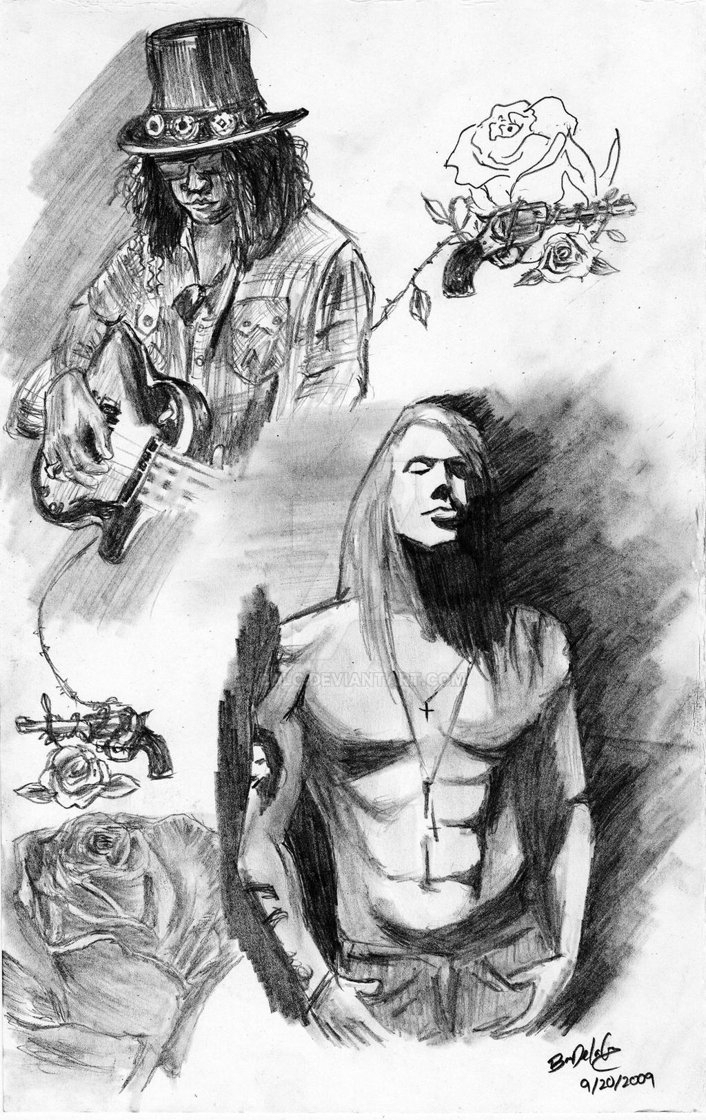 Guns N Roses By Bdlc On Deviantart