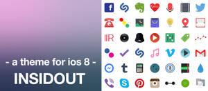 Insidout - A new theme for ios 8