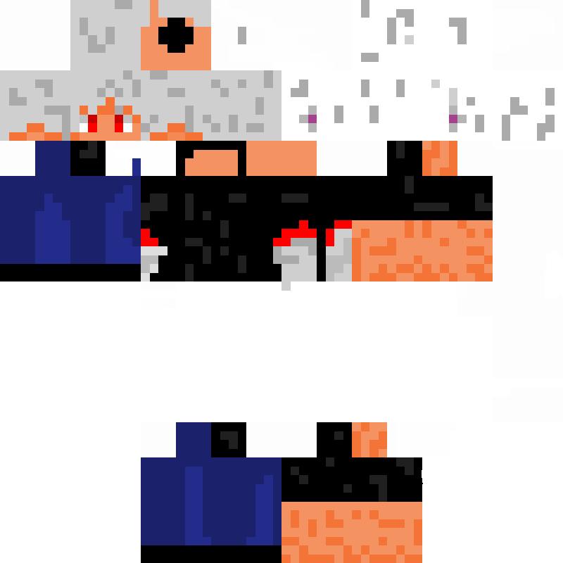 Roxas Minecraft Skin By RoxasNotAFox On DeviantArt - Skins para minecraft pe download
