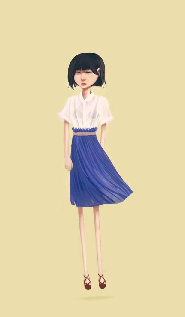 Flow girl 1 by xearslll