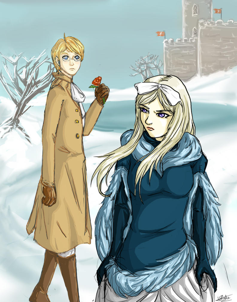 APH: Ice Maiden Fair by tenshiamanda