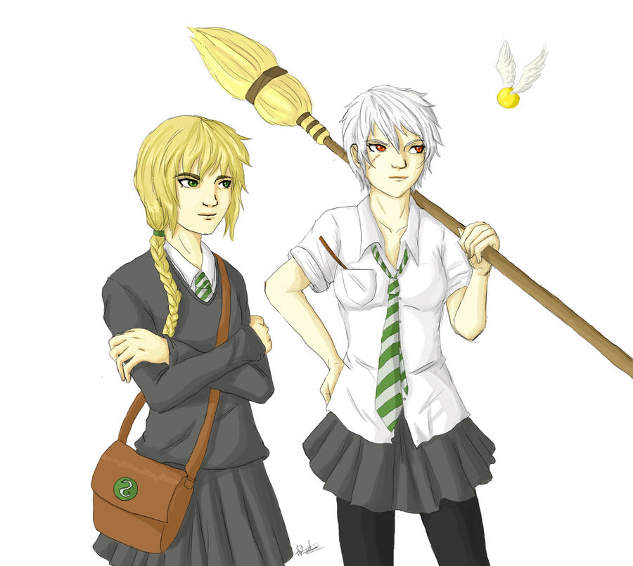 APH: Fabulous Hogwarts bitches by tenshiamanda