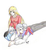 Sparda family by tenshiamanda