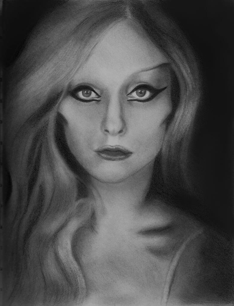 Lady Gaga BTW Portrait by MattSimas