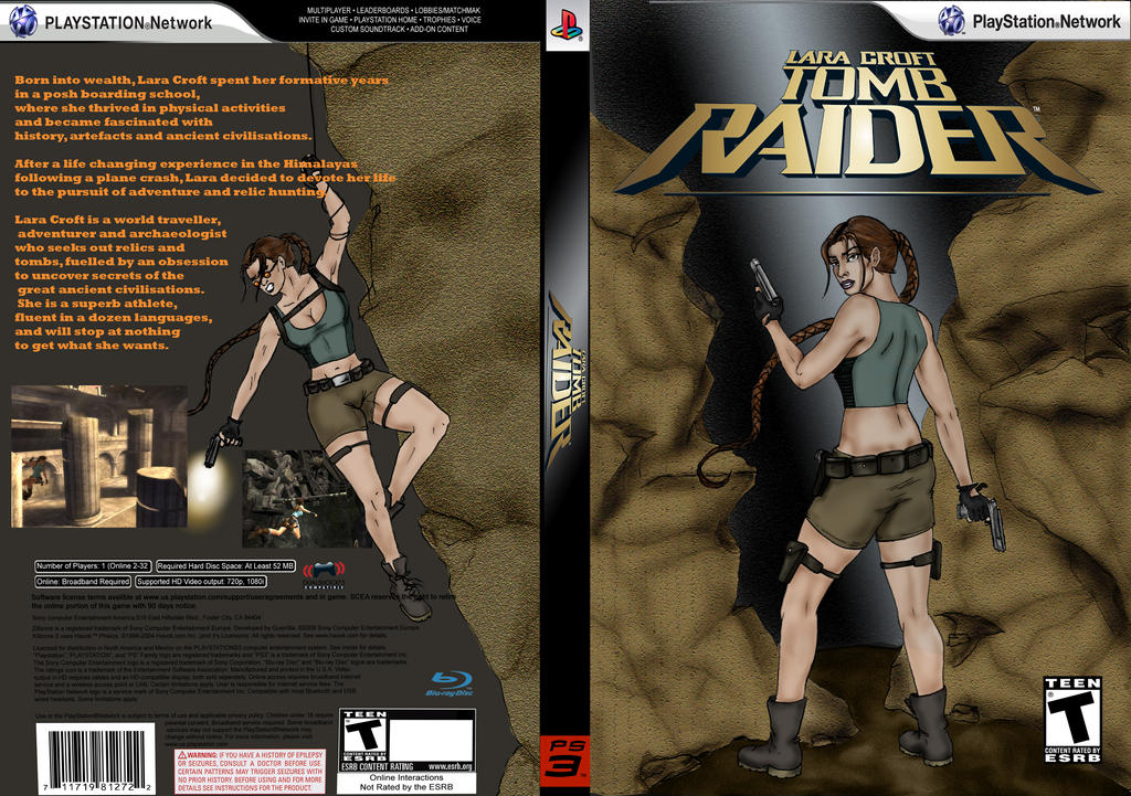 Tomb Raider Video Game Cover By Mattsimas On Deviantart