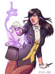 Zatanna Colors by Paris Alleyne