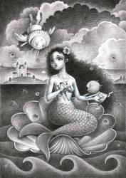 The mermaid princess by 6133