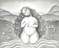 A goddess in Chinese mythology