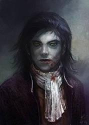 Vampire portrait_2 by Grandfailure