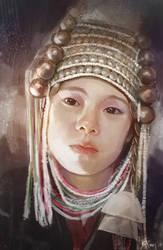 Cris Horwang's portrait by Grandfailure