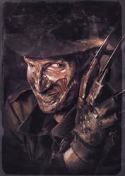 Freddy Krueger by Grandfailure