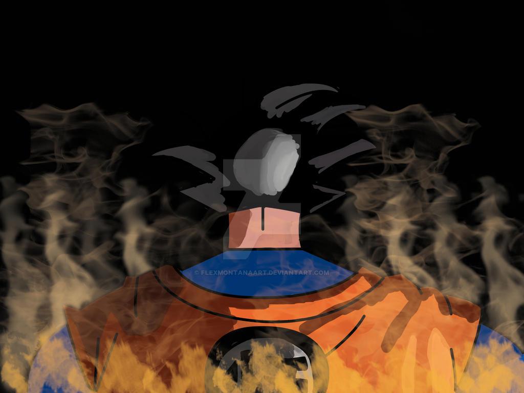 Son Goku (final Version) by FlexMontanaArt