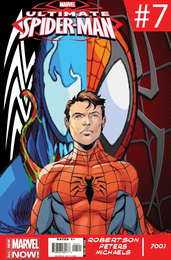 Spiderman Comic Cover by FlexMontanaArt