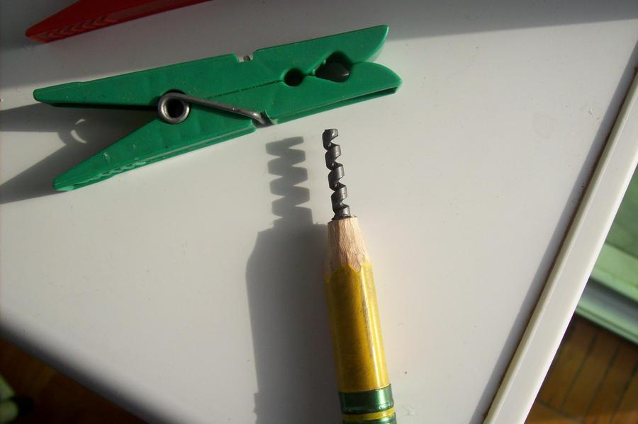 pencil carving - Quinta da Regaleira by cerkahegyzo