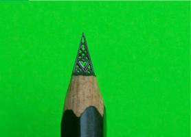 Gothic pencil from the dark twenty-first century