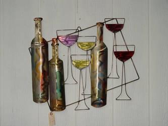 Wine and Glasses medium