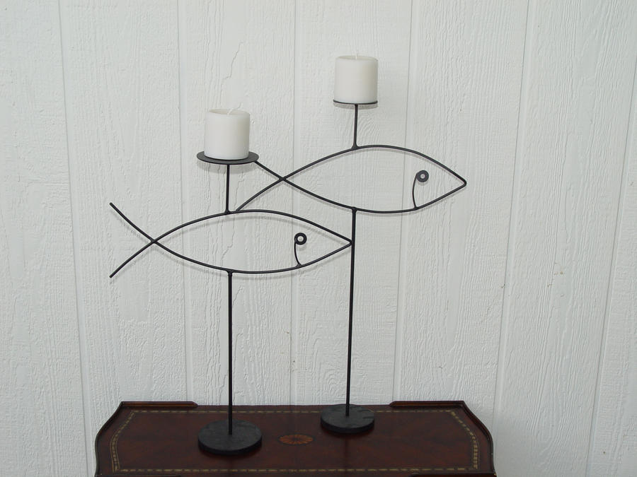Fish Candle Set