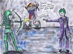 Green Arrow vs. Joker