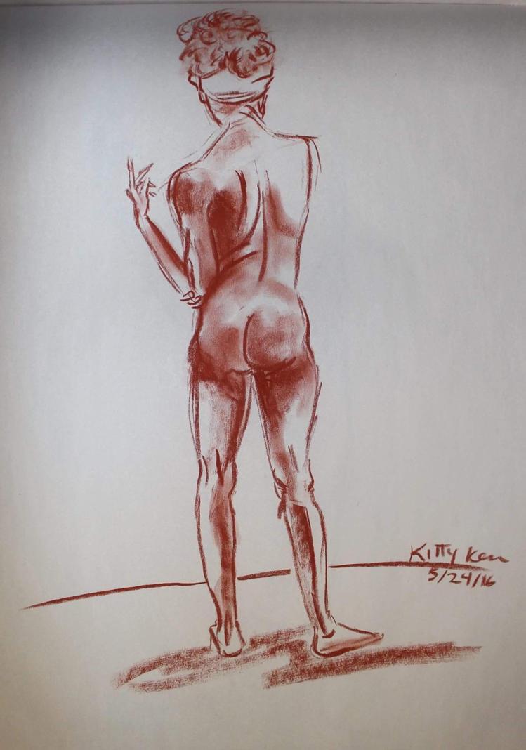 Bare back by Kaleidoscope24