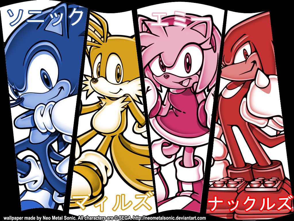 Wall -team sonic- by NeoMetalSonic
