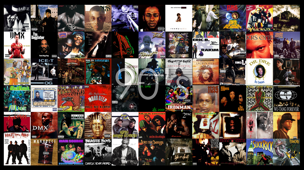 90 S Hip Hop Album Covers 1080p By Samp127 On Deviantart