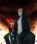 Midna's parents -young-
