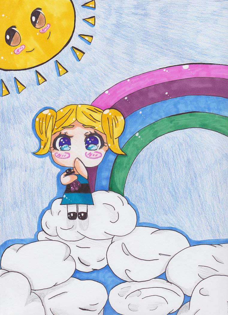 Cute Little Bubbles by animequeenfreak
