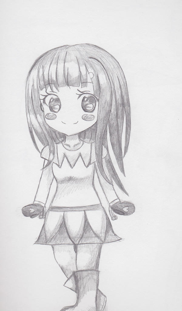 Pale Cyntheia Sketch by animequeenfreak