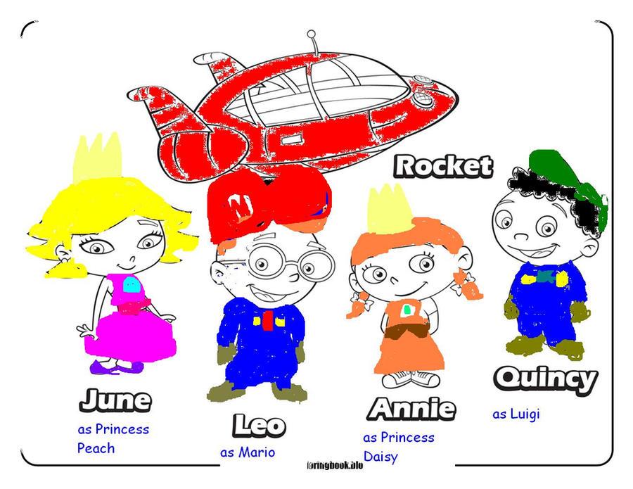 List of Disney Junior Little Einsteins Coloring Pages Pict - Best ...