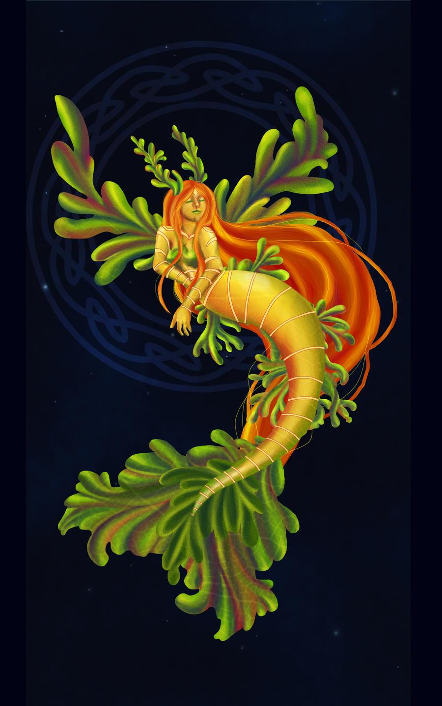 Leafy Sea Dragon Mermaid by Tiny-Owl on DeviantArt
