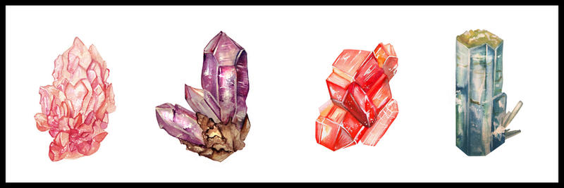 Gemstones by Tiny-Owl