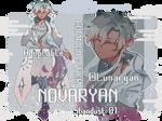 [Auction - CLOSED!] Novaryan: Common Tier by Lunaryanova