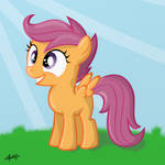 Excited Scootaloo