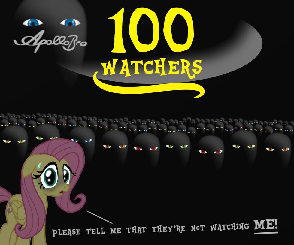 100watchers! Yay! by ApolloBroDA